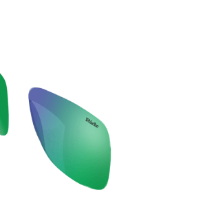 Switch Sunglasses Green Chrome Lenses