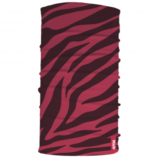 Pink Zebra Neck Tube