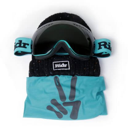 Teal Slope Ski Set