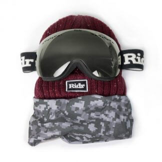 Camo Slope Ski Set